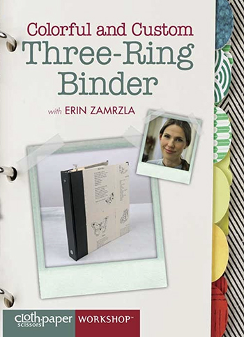 Colorful and Custom Three-Ring Binder video with Erin Zamrzla