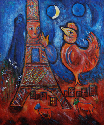 Chinese New Year Marc Chagalls Rooster Artists Network