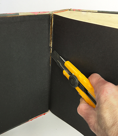Repurposing a book