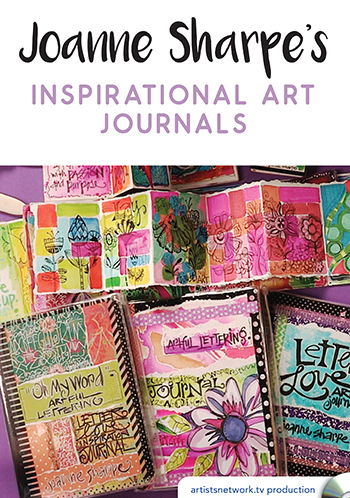 Inspirational Art Journals video with Joanne Sharpe