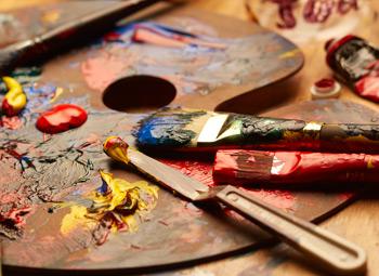 oil paints on palette | ArtistsNetwork.com