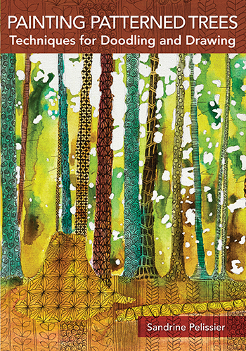 Painting Patterned Trees video with Sandrine Pelissier