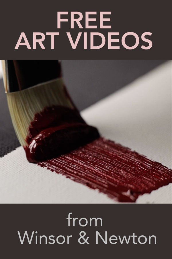 Winsor & Newton Masterclass art videos