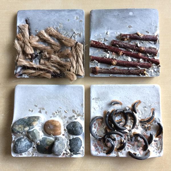 assemblage concrete tiles