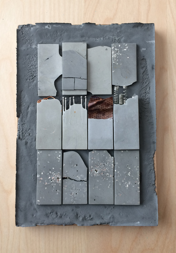 concrete assemblage second example