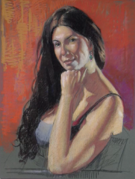 Pastel Portrait Demonstration: Painting from Life with Brian Keeler | ArtistsNetwork.tv