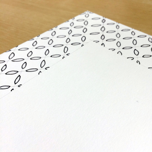 create pattern with marker