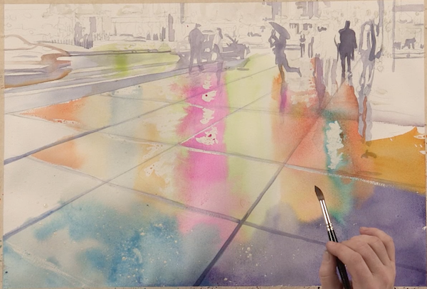 Watercolor Painting Demonstration with Paul Jackson | ArtistsNetwork.com