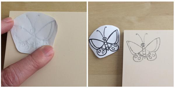 transfer stamp carving steps 2-3