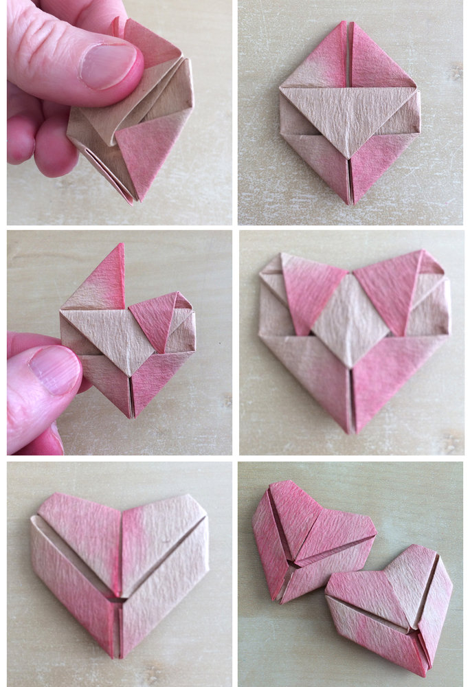 origami folds 13-18