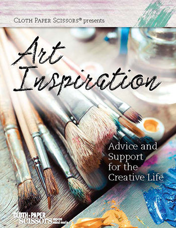 Cloth Paper Scissors presents Art Inspiration digital download