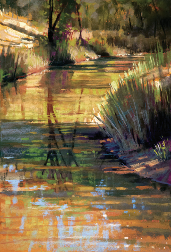 Painting Realistic Landscapes in Pastel: Water & Reflections with Liz Haywood-Sullivan