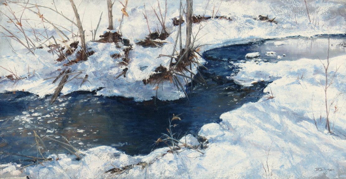 Pastel_Becky_Johnson_Winter-Waltz_7.5x14.5