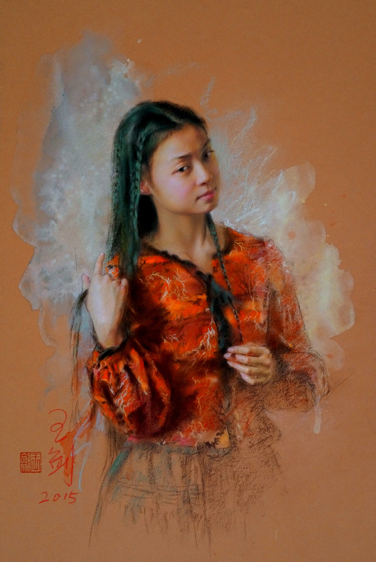 PAstel_Painting_Jian_Wang_Portrait2