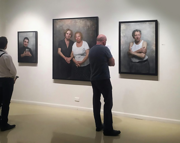 Portraits of Holocaust survivors, by David Jon Kassan, at Gallery Henoch | ArtistsNetwork.com