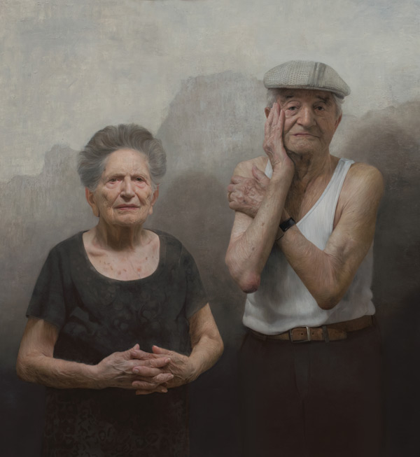 Portraits of Holocaust survivors: Louise and Lazar Farkas | ArtistsNetwork.com