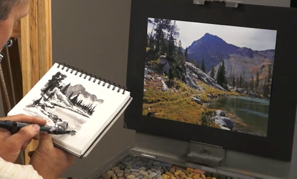 Composition Tips for Landscape Painting with Aaron Schuerr