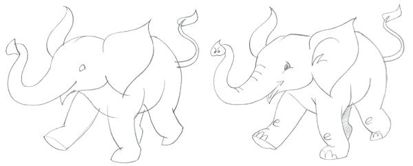 How to draw an easy elephant | ArtistsNetwork.com