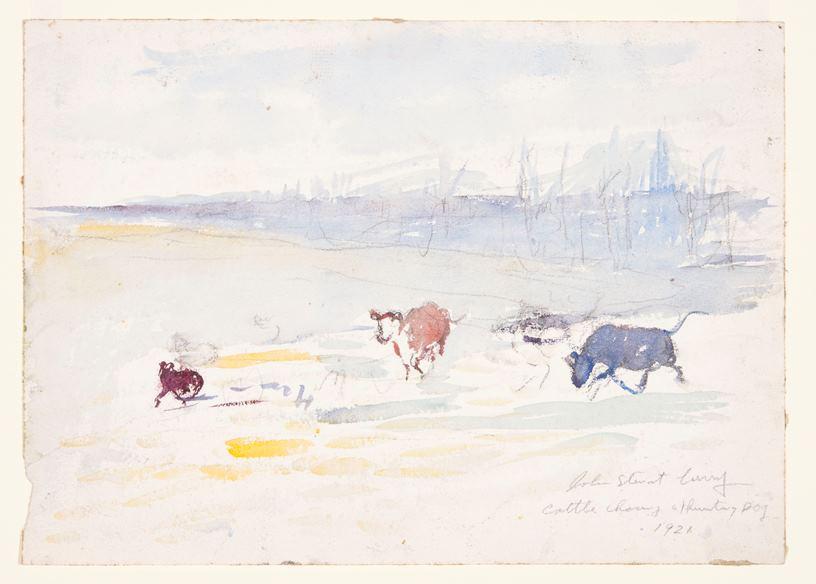 John Steuart Curry Exhibition | Beach Museum of Art | Artist's Network