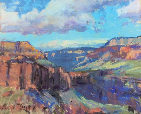 Painting the Grand Canyon en Plein Air | Aaron Schuerr, ArtistsNetwork.com
