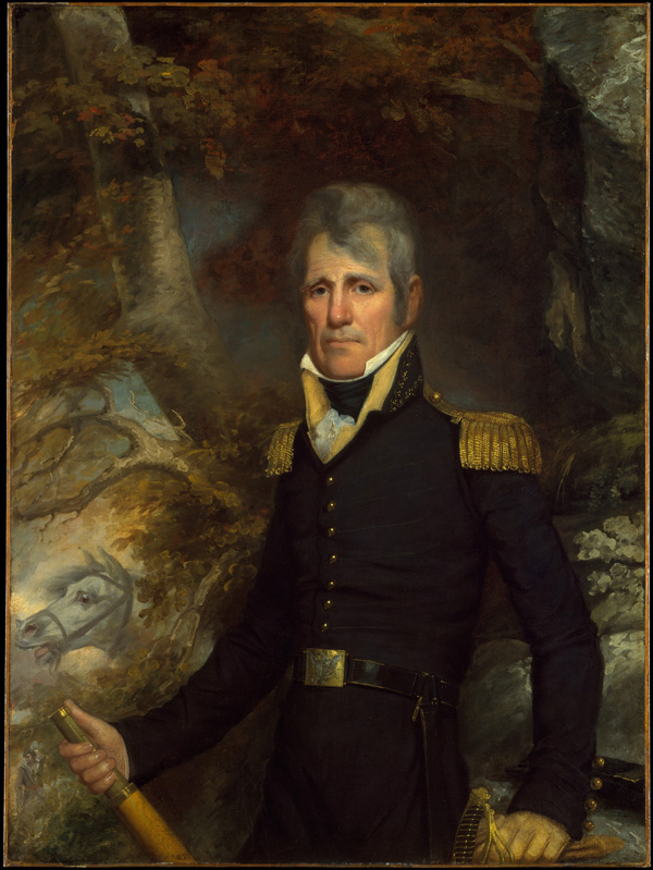 Portrait painting of General Andrew Jackson