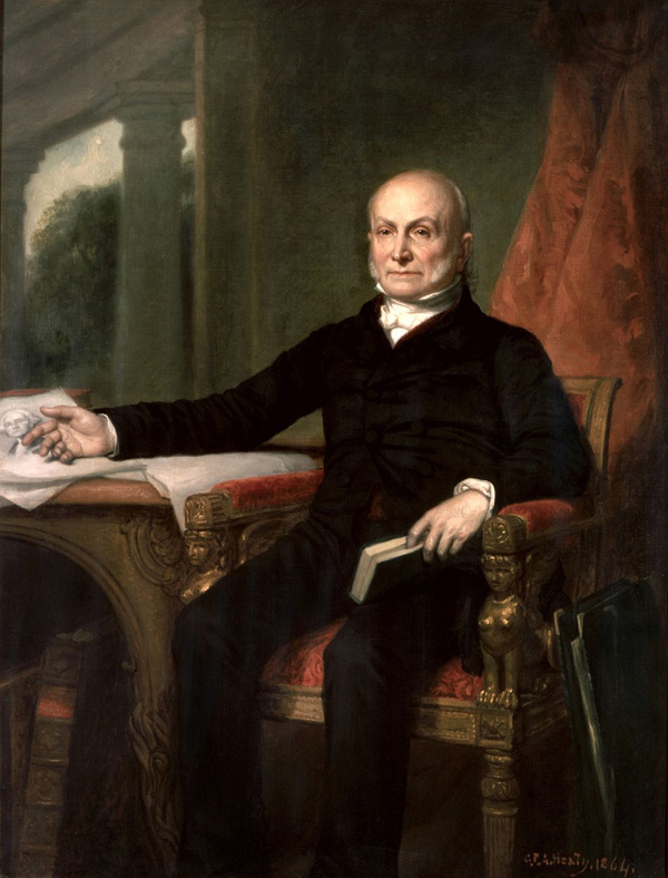 Presidential portraits | John Quincy Adams