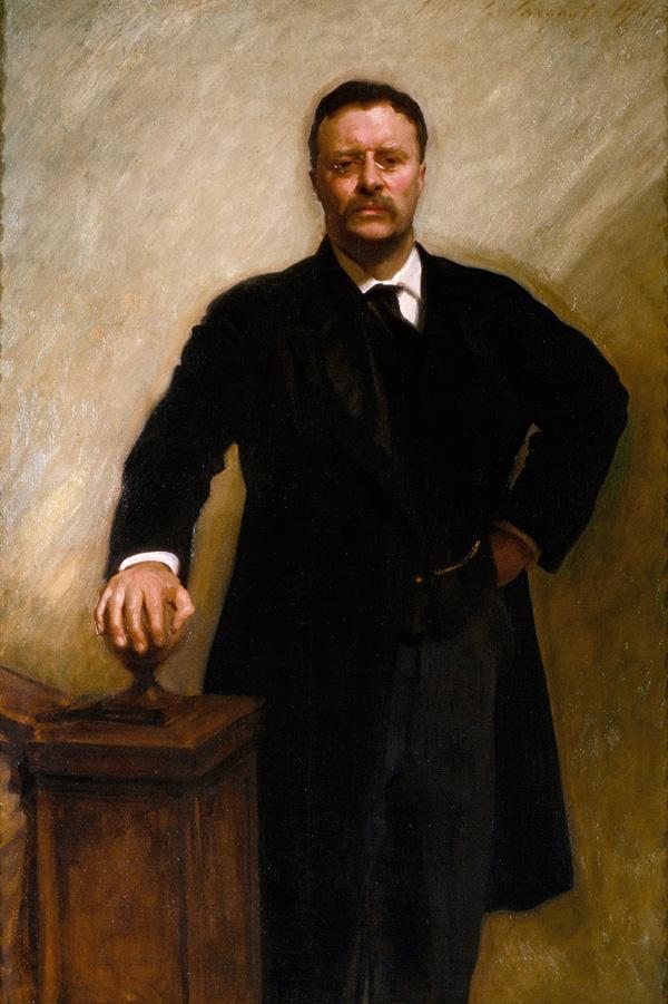 Presidential portraits | Theodore Roosevelt