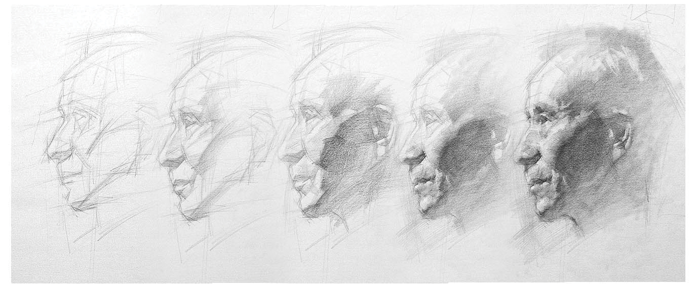 Portrait drawings--6 mistakes not to make