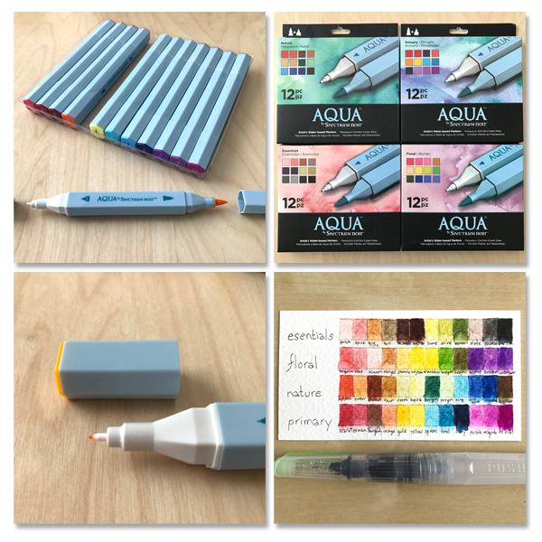 Auqu makers sets and palette