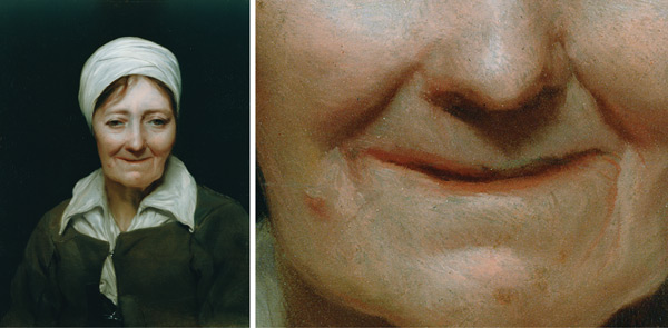 "Painting the Mouth: ""Head of a Woman"" by Michiel Sweerts, plus detail; digital images courtesy of the Getty's Open Content Program 
