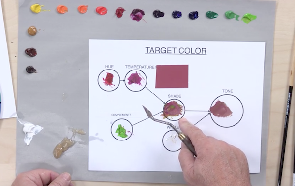 Color Mixing Lesson with Mark Menendez | ArtistsNetwork
