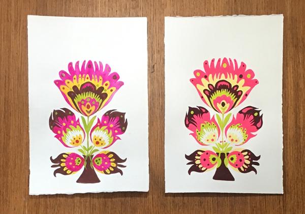 watercolor vs gouache example 1