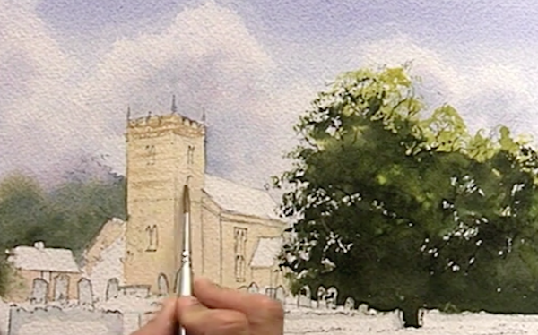 Improve Your Watercolor Buildings with Geoff Kersey | ArtistsNetwork