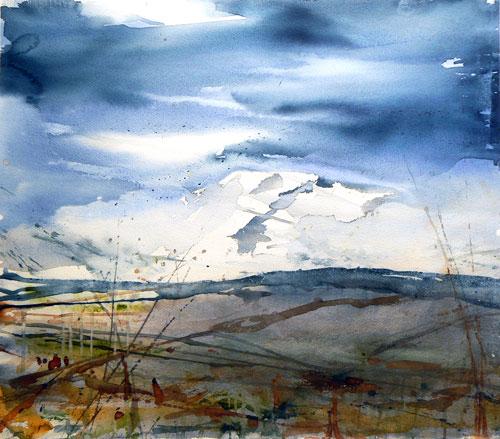 watercolor_landscape_mountain_stig_ove_sivertsen | artistsnetwork.com