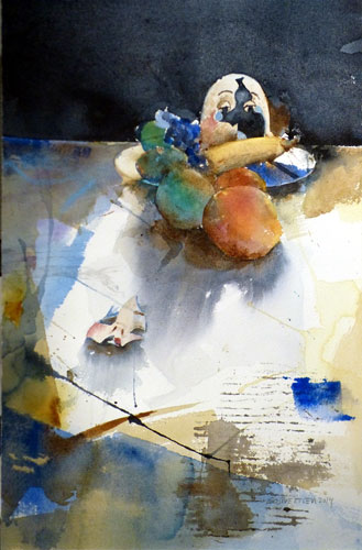 watercolor_still_life_melancholy_stig_ove_sivertsen | artistsnetwork.com