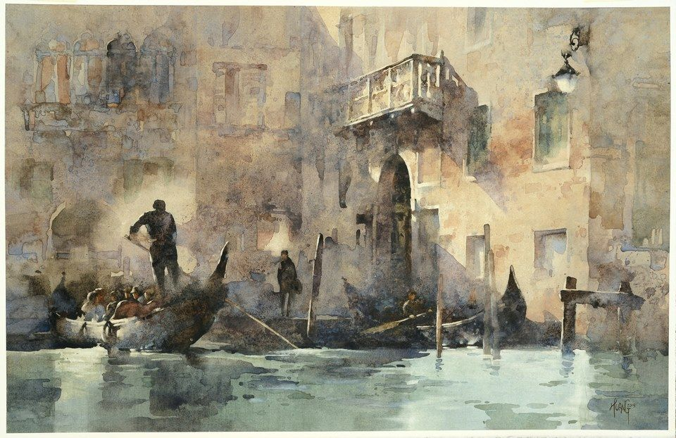 Enchanted with Venice by Hsiao-Hui Huang -- Best of Show winner in the Watermedia Showcase Competition