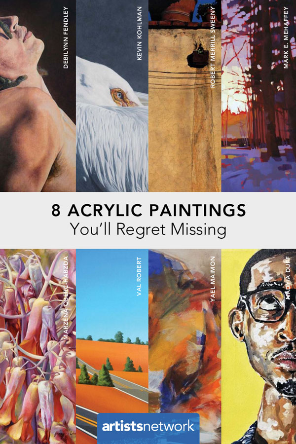 Acrylic paintings you have to see, acrylics, artist's network