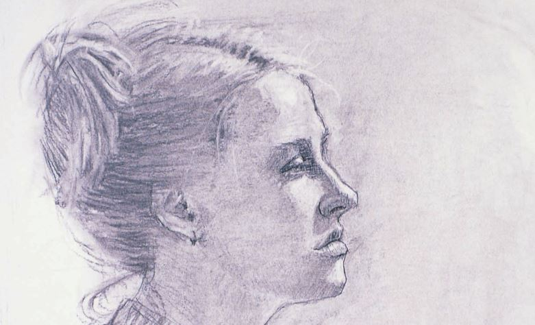 Portrait drawing by Joy Thomas | Portrait Drawings and Paintings That Do Everything Right | How to Find Your Focal Point(s) | Artists Network