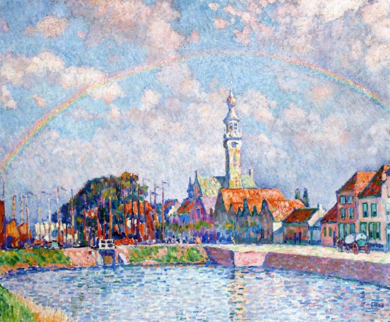 Rainbow over Veere by Theo van Rysselberghe.