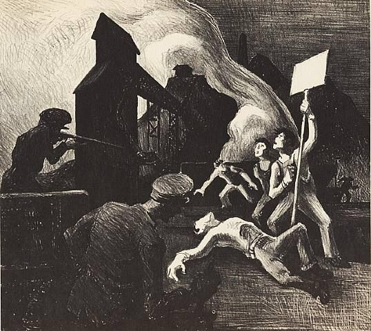 Strike by Thomas Hart Benton