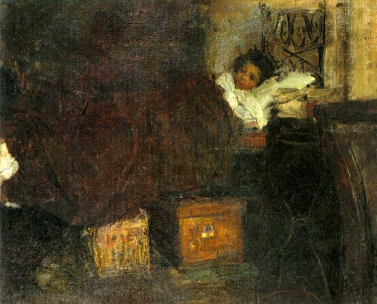 Sick Boy by Antonio Mancini