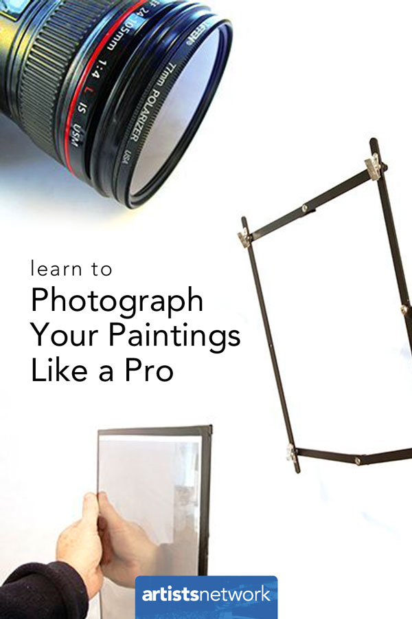 Photograph your paintings & learn to paint from photos