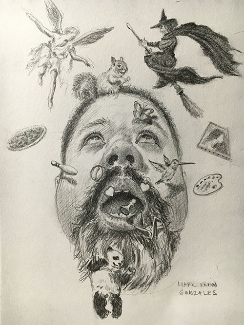 Mechanical Pencil| Artist's Network | Mark Gonzales | best mechanical pencils, Drawing magazine, graphite, drawing tips