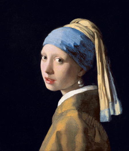 Girl with a Pearl Earring by Vermeer is another example of portraiture that uses the Golden Ratio.