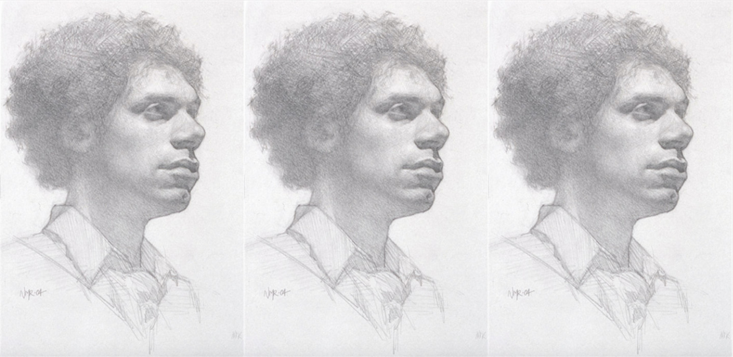Pencil portrait by Nicholas Raynolds | How to Draw Exhibit Worthy Portraits -- article by Nicholas Raynolds and Artists Network