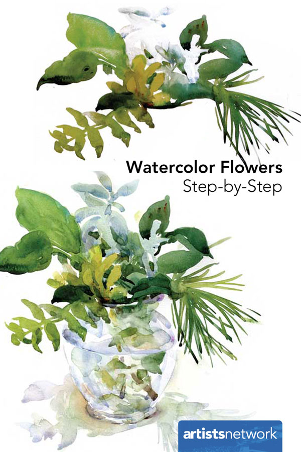 Watercolor Flowers Step-by-Step, Artist Daily