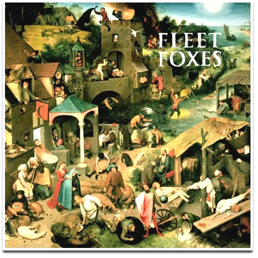 Fleet foxes -- album covers featuring famous art