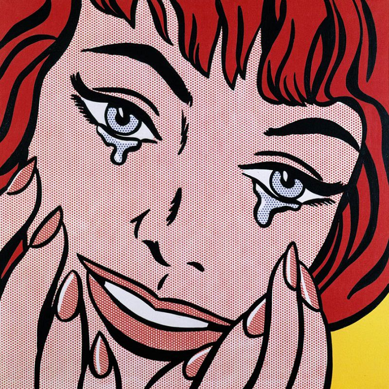 Happy Tears by Roy Lichtenstein