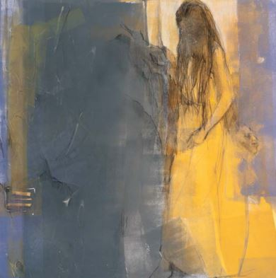 What kind of pastel artist are you? Take our pastel quiz. Persephone by Dawn Emerson, monotype with soft pastel.