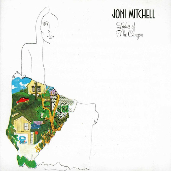 Joni Mitchell album cover